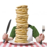 All You Can Eat Pancakes $5 Saturday Mornings